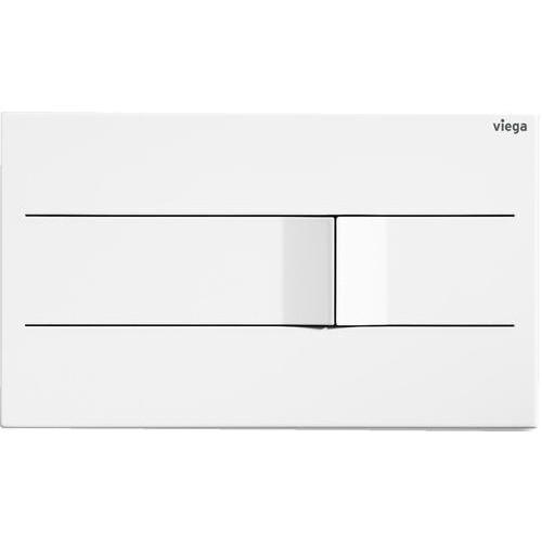 Clapeta WC Viega Prevista Visign for More 201- Electronic- Inox Alb Trafic